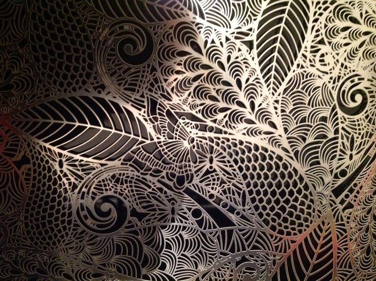 Farfalle, Metal Panel, Caino Design (2015)