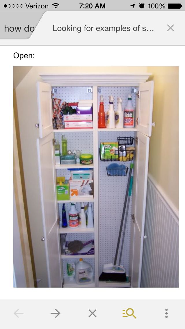 Broom Closet Home Decor And Organization Ideas Pinterest Laundry Laundry Rooms And