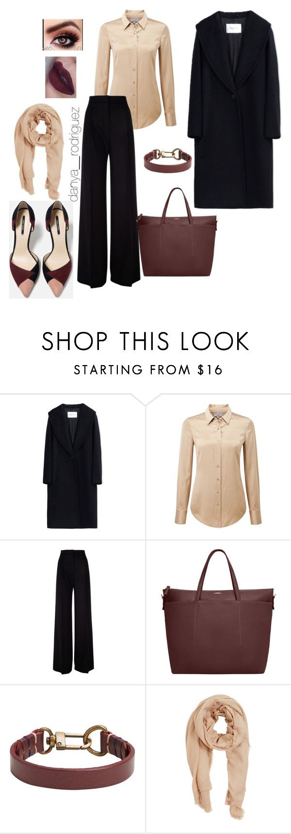 """Sin título #112"" by sousou2578 on Polyvore featuring moda, MaxMara, Pure Collection y MANGO"