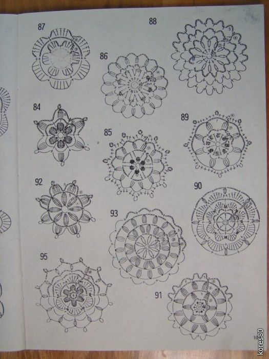600 crochet motifs and stitches (pages)