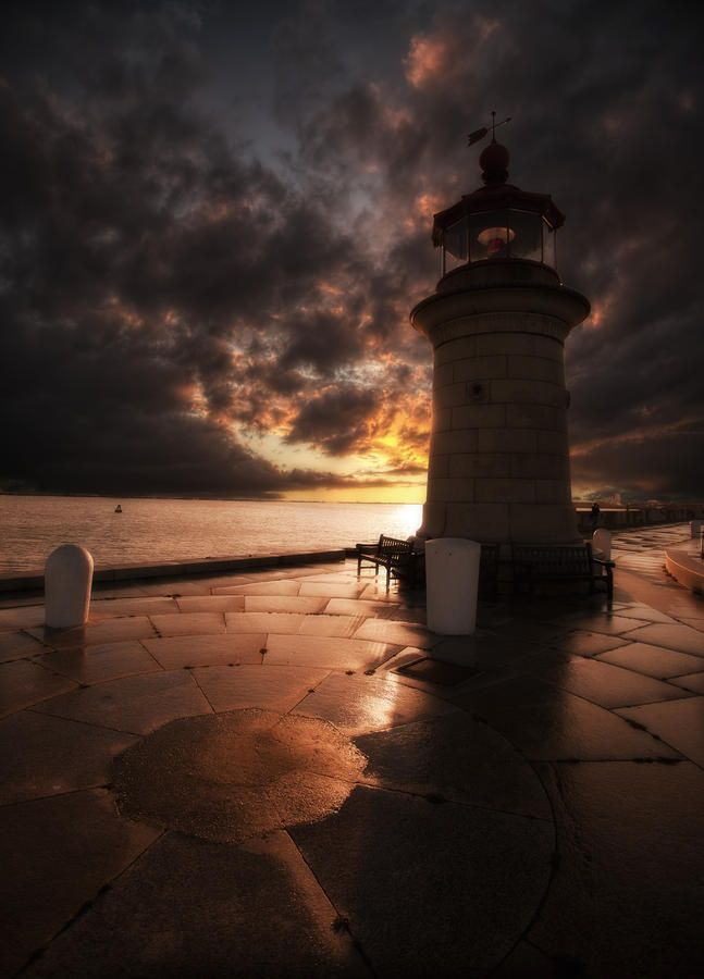 """Ramsgate Lighthouse Photograph - Fine Art Print"""