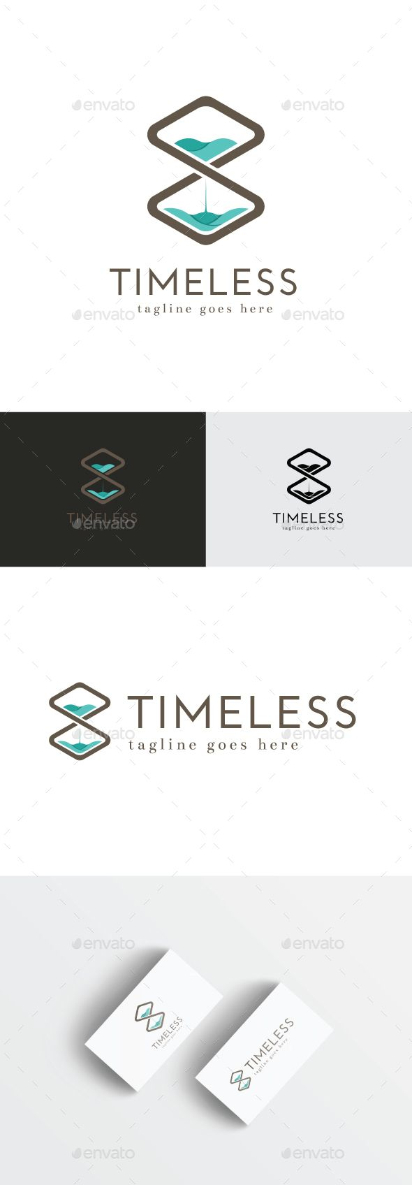 Timeless Logo EPS Template • Download ➝ https://graphicriver.net/item/timeless-logo/14688951?ref=pxcr
