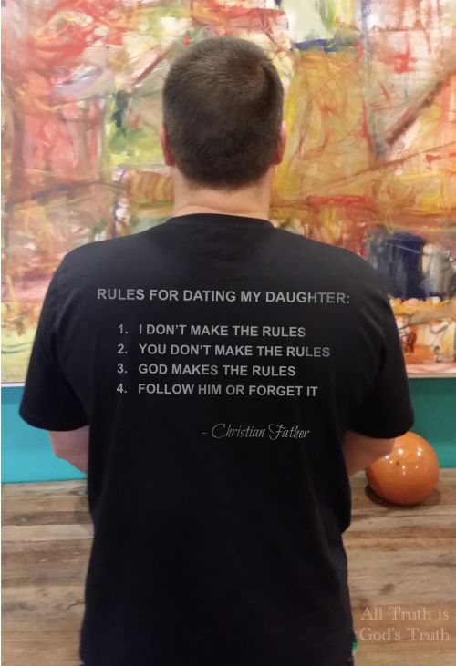 Rules for dating my christian son