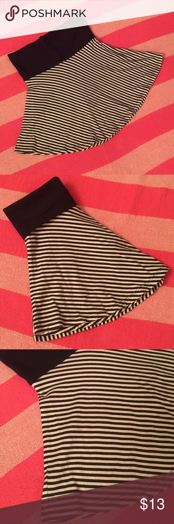 Flowers by Zoe girl's skirt 🌺 Stripped blue girls mini skirt, in good condition 🌺 Flowers by Zoe Bottoms Skirts