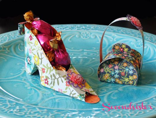 templates for the shoe and purse - too cute!