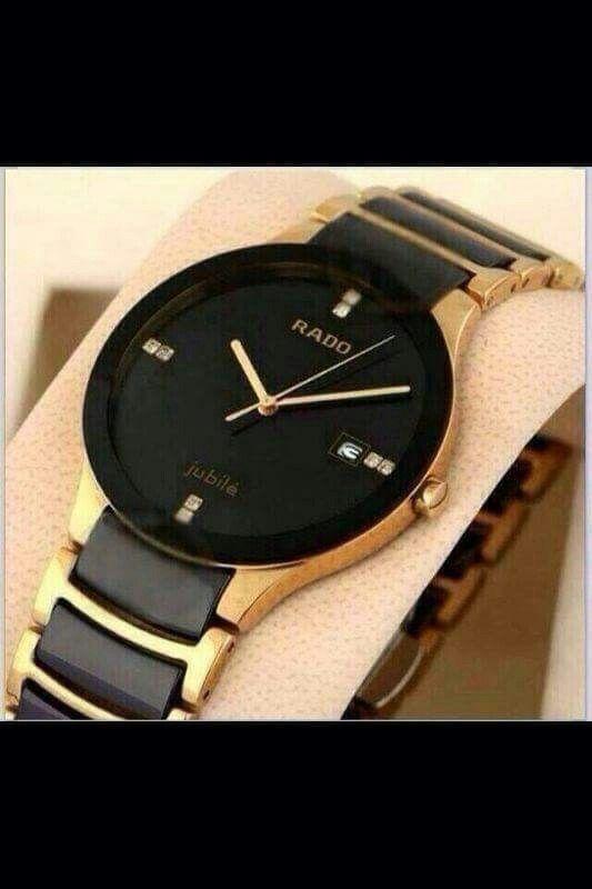 Decent yet stylish black rado watch