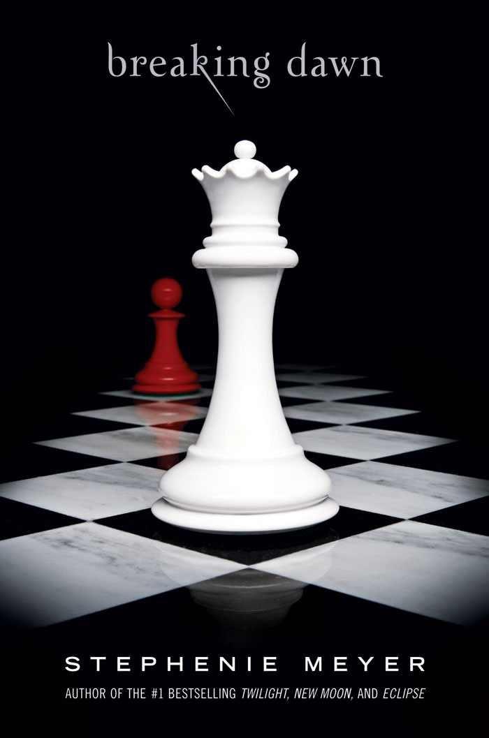 Twilight Saga- Breaking Dawn Book 4 Red black & white