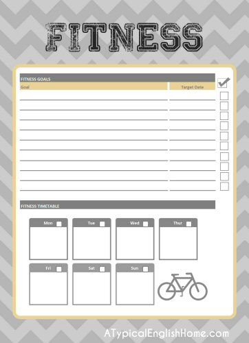 Lifetime Fitness Th Nk Binder - letterthoughts