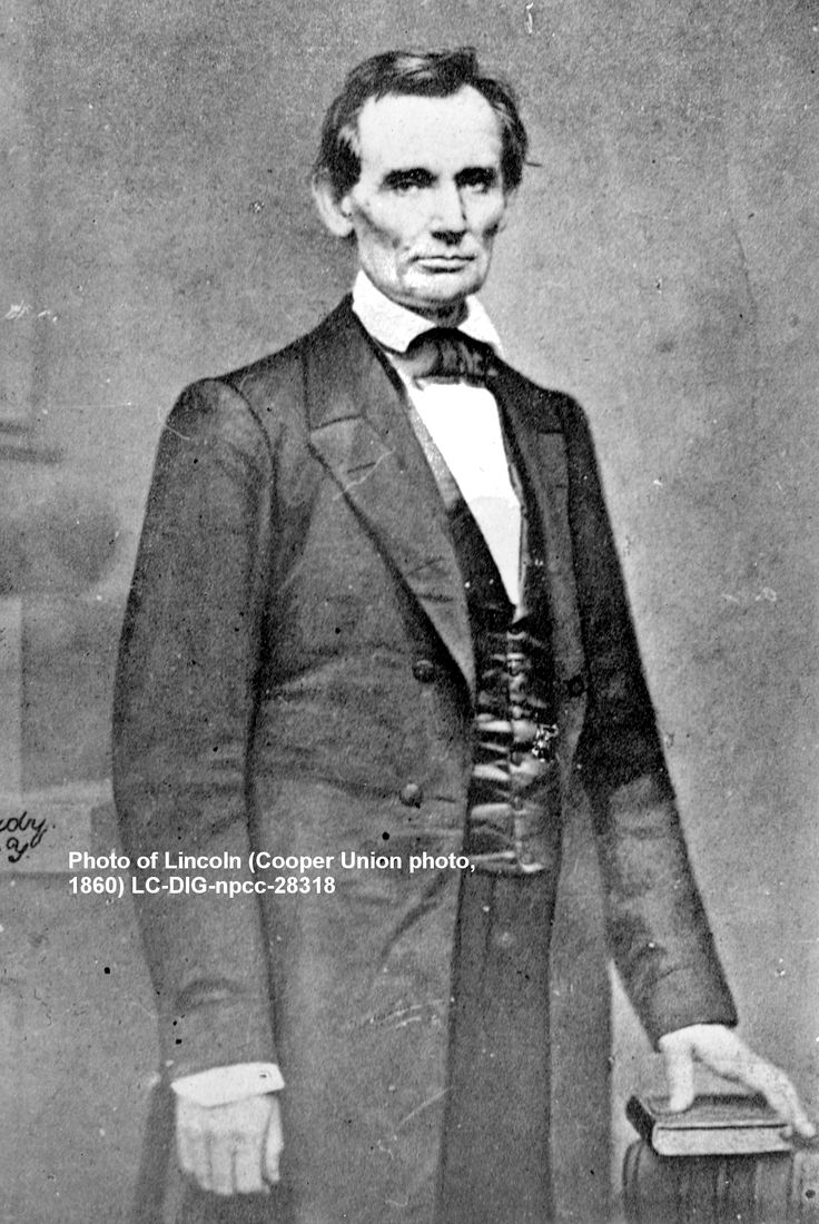 """Their thinking it [slavery] right, and our thinking it wrong, is the precise fact upon which depends the whole controversy"" Abraham Lincoln, Feb 27, 1860, Cooper Union  http://www.barnesandnoble.com/w/candidate-lincoln-georgiann-baldino/1109595712"