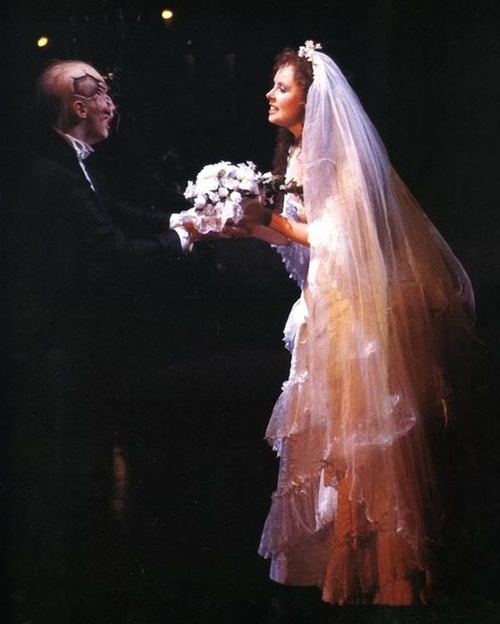 Michael Crawford and Sarah Brightman.  Michael is the standard against which all others are judged.