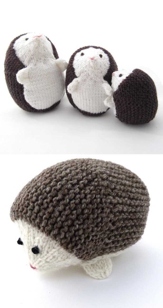 Hedgehog Family - 3000 pins. I cannot believe this has hit 3000. Alright. Come hell or high water, DPNS or magic loop, I will knit this this year.