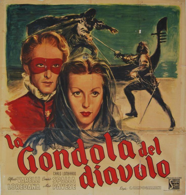 'La gondola del diavolo' (1946); regia: Carlo Campogalliani