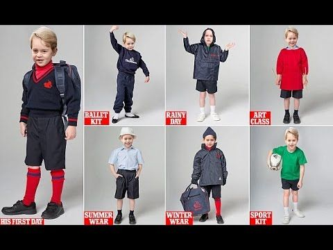 What Will Prince George Wear at His New School in September? Check Our Simulations