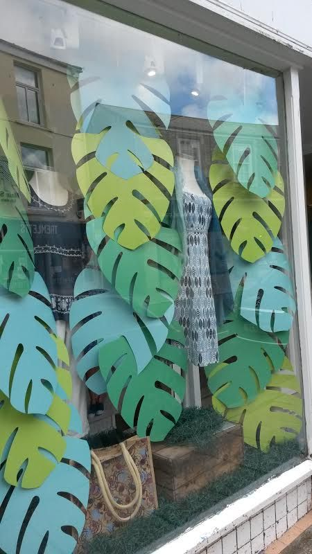 Mistral Truro summer 16 store window display