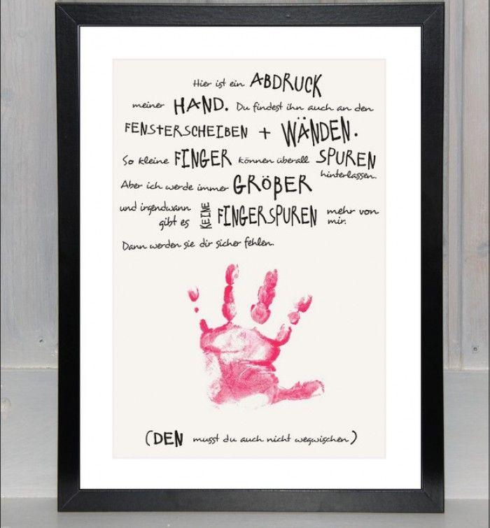 Schöne Idee für ein Vatertags- oder Muttertagsgeschenk. Noch mehr Ideen gibt es auf www.Spaaz.de