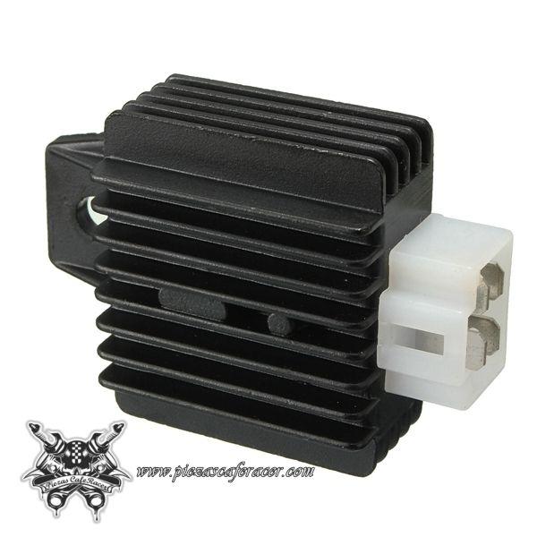 11,38€ - ENVÍO GRATIS - Regulador Rectificador de Voltaje Universal 4 Pines Para Motos 125cc