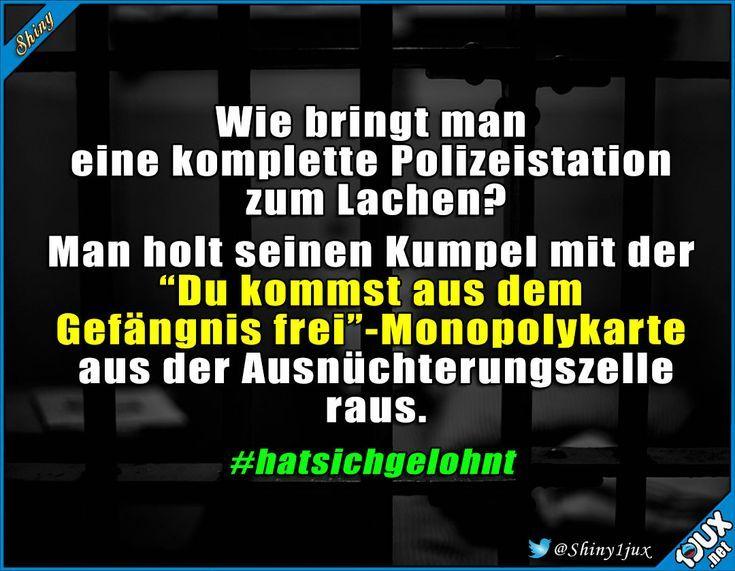 Polizisten haben auch Humor :) #Polizei #Monopoly #lustig #Humor #Sprüche #witzig – Anna Hering
