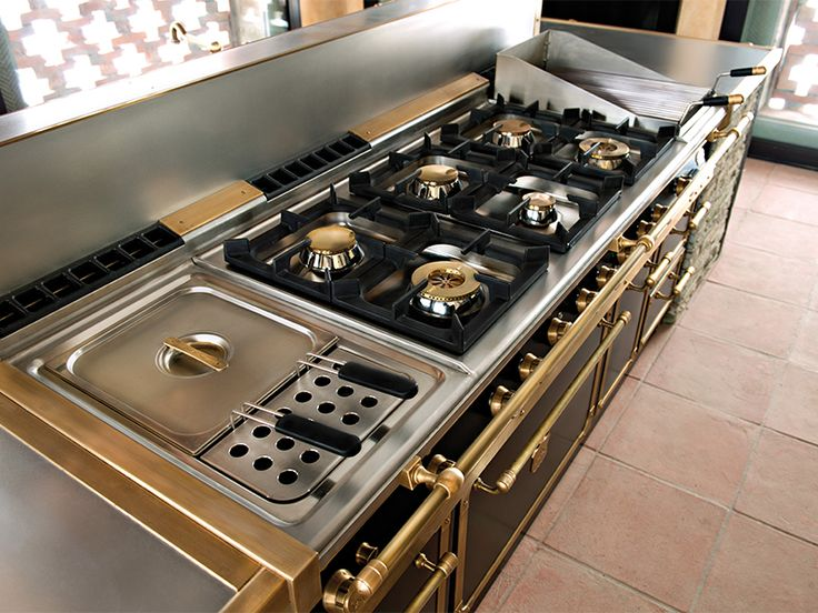 Officine gullo custom range kitchen products on modenus pinterest stove the o 39 jays and - Cucina professionale in casa ...