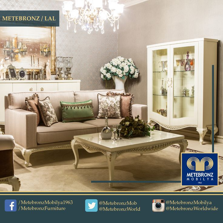 How about hosting your guests in this elegant living room this afternoon? #Metebronz www.metebronzmobilya.com