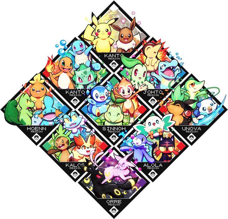pikachu, eevee, squirtle, charmander, bulbasaur, cyndaquil, chikorita, totodile, torchic, treecko, mudkip, piplup, chimchar, turtwig, snivy, tepig, oshawott, froakie, chespin, fennekin, rowlet, litten popplio, espeon, umbreon, pokemon