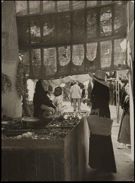 Eivissa, Mercat Vell, 1951 Foto: Todd Webb