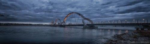 Sölvesborgsbron i förkväll!