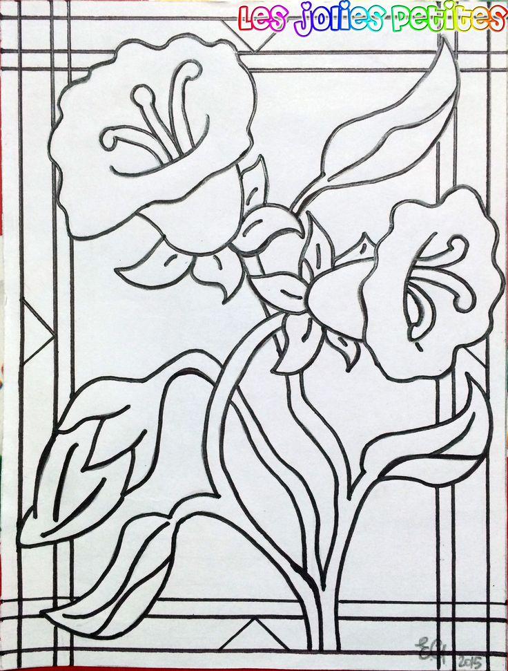 Tre #fiori- #matita B su #foglio liscio 15x20cm #drawing #flowers #fabriano #staedtler #lesjoliespetites