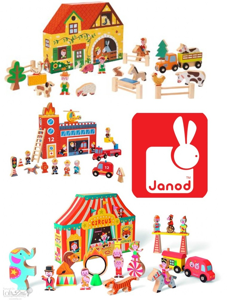 Janod Wooden Play Sets now available at Bridget's, Norfolk, Virginia!!