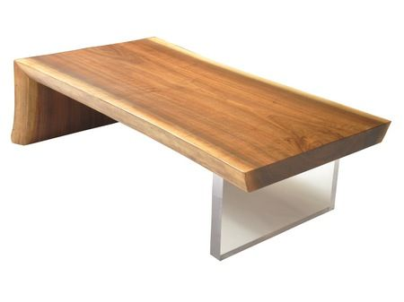rotsen furniture single slab stainless steel. rotsen furniture the raw edge walnut coffee table is made from a single slab of reclaimed wood and clear acrylic base onefold design gives stainless steel