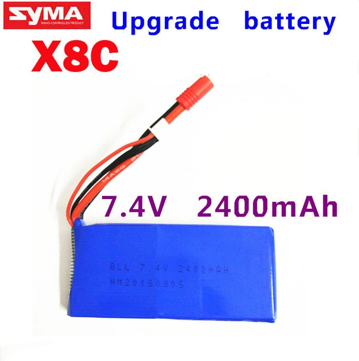 Wholesale rc helicopter parts Upgrade Syma X8 X8C X8W Spare Part 7.4V 2400Mah 25C Battery //Price: $US $12.26 & FREE Shipping //     #rchelicopters