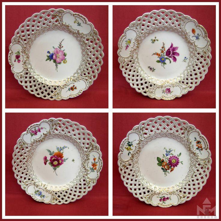 Meisseni tányérok, 19. század közepe
