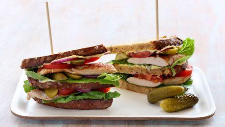 Club sandwich oppskrift