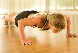 Push-ups are a must when working out