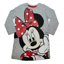 tricou lung ML Minnie - gri