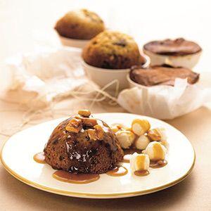 Sticky Date Pudding with Creamy Vanilla Ice Cream