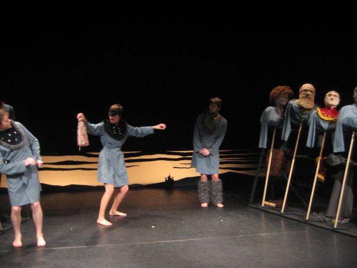 De drie zussen / A. Tsjechov / Damia 2007 scenografie: Bruno Stappaerts