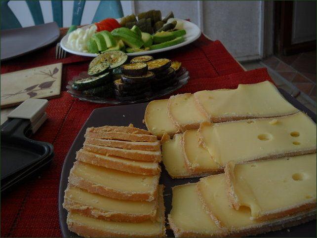 Raclette végétarienne aux légumes variés - Végécarib