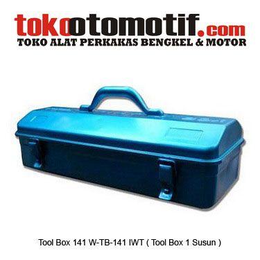 Tool Box 141 W-TB-141 IWT ( Tool Box 1 Susun ) Kosong - Kotak Perkakas / Peralatan / Hand Tool  Kode : 110132 Nama : Tool Box ( Tool Box 1 Susun ) Kosong Merk : IWT Tipe : 141 W-TB-141 Berat Kirim : 1 Kg  #toolbox #hargatoolbox #hargajualtoolbox #kotakperkakas #jualtoolbox #boxperkakas