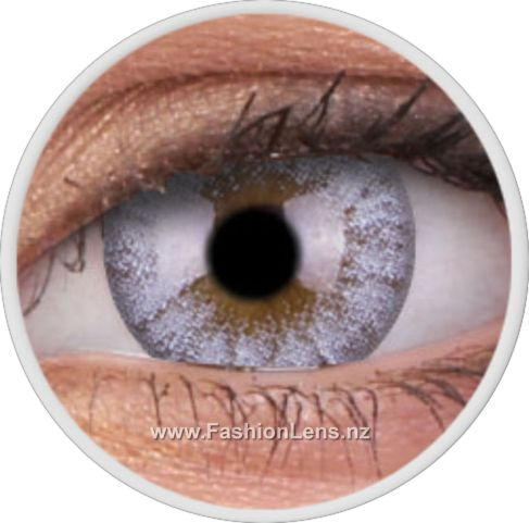 BUY ONLINE NOW - Cheerful Creamy White coloured fashion contact lenses by ColourVue - New Zealand