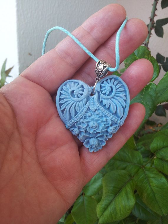 ANCIENT HEART NECKLACE by ElenisLittleShop on Etsy