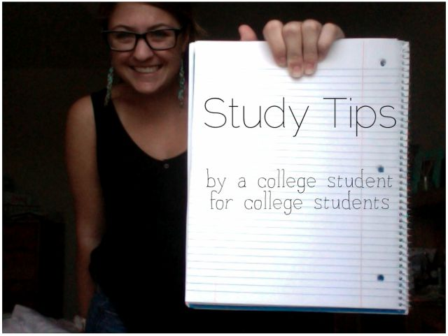 Study Tips from an Honors Nerd