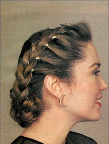 Best Wedding Bridesmaids Hairstyle Ideas Images On Pinterest - Classic vintage hairstyle