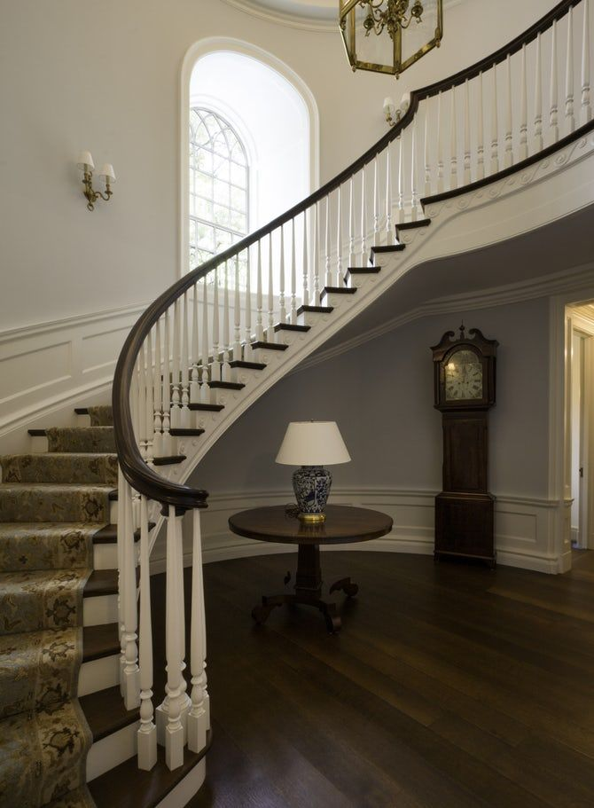 Best Private Residence Main Stair Hallway Staircase 400 x 300