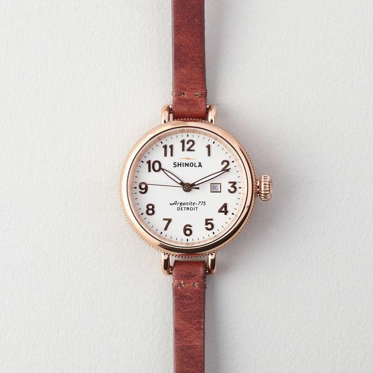 womens cool watches, discount womens watches, cheap womens watches online - LOVE THIS!!!!! Shinola Birdy 34mm Watch | Women's Watches | Steven Alan