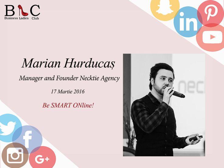 Marian Hurducaş a spus DA invitaţiei noastre! Ne vedem în 17 Martie.  Te-ai înscris? http://goo.gl/Hy1ipG  #BeSMARTONline