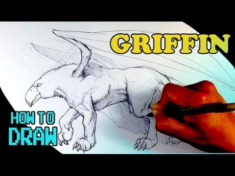 How to Draw a Monster - Griffin - Draw Fantasy Art