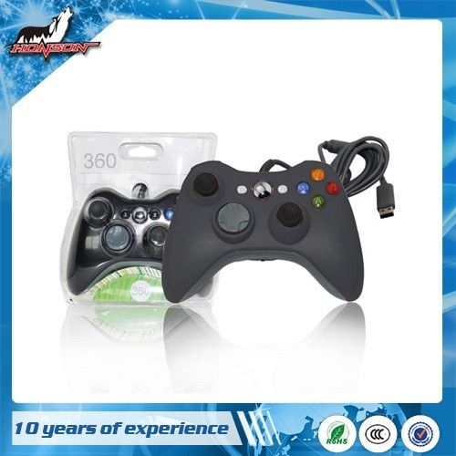 Price Down Cheap Price Gamepad Joystick Wired Controller for Xbox 360 Console