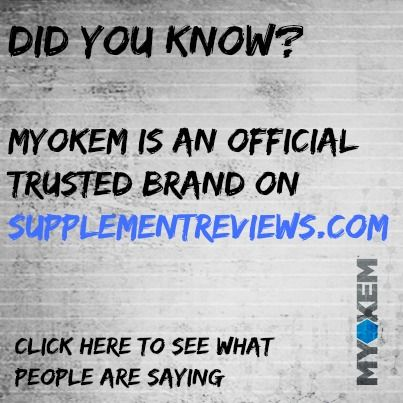 People trust us - just sayin! #bodybuilding #nitramine #myokemnation #defylimitations #scienceoverhype #weightlifting #gymrat #myokem #preworkout  #fitness #bodyimage