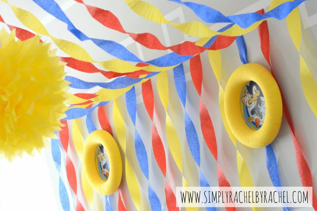 Sonic Hedgehog Birthday Party - Simply Rachel