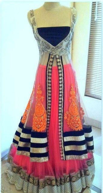 Majenta Mughal Insprired lehenga – Panache Haute Couture